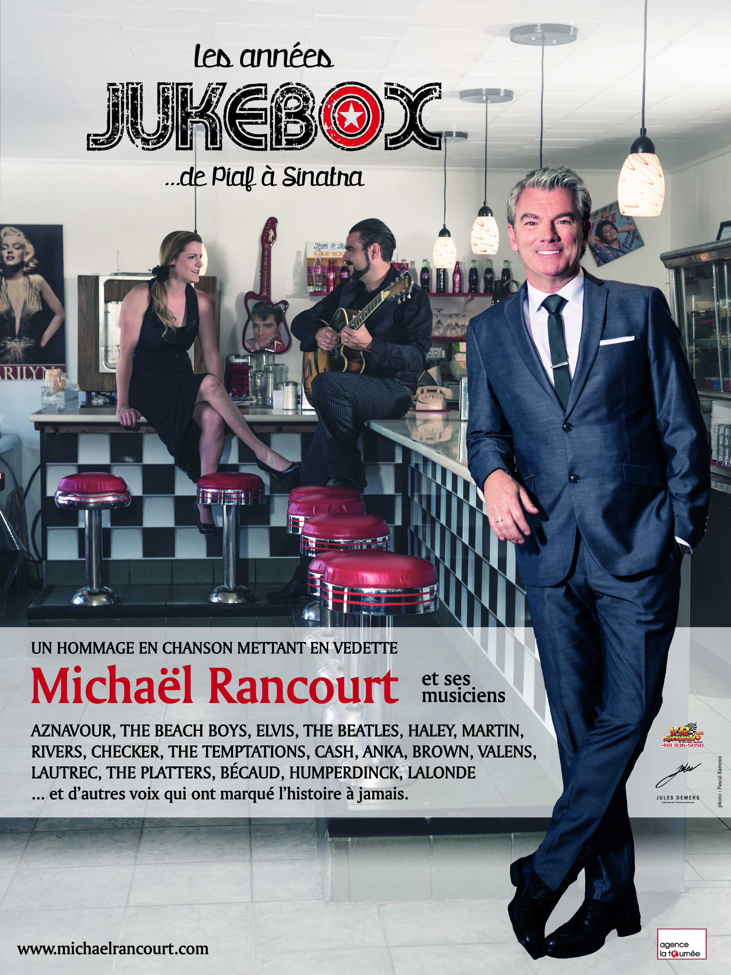 Souper - spectacle Michaël Rancourt - Les Années Jukebox